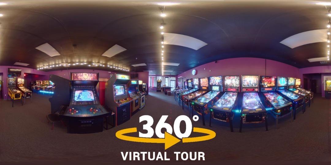 360° Virtual Tour – Portal Pinball
