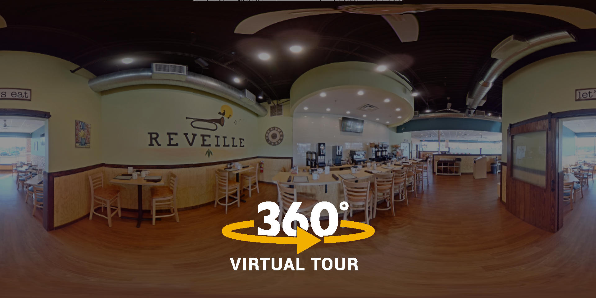 Mythos Media - Reveille Cafe Virtual Tours and Street View