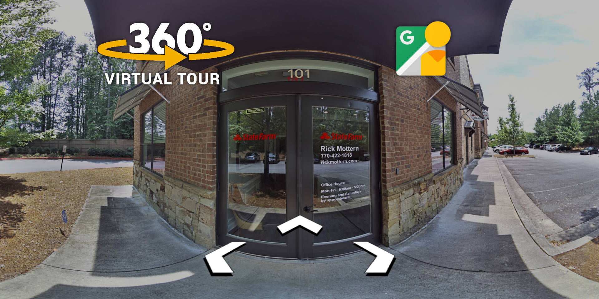 Mythos Media Virtual Tours - Rick Mottern State Farm Insurance in Kennesaw and Brookhaven, Georgia