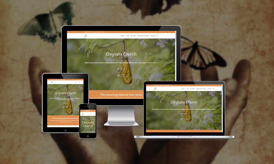 Mythos Media Website - Chrysalis Church