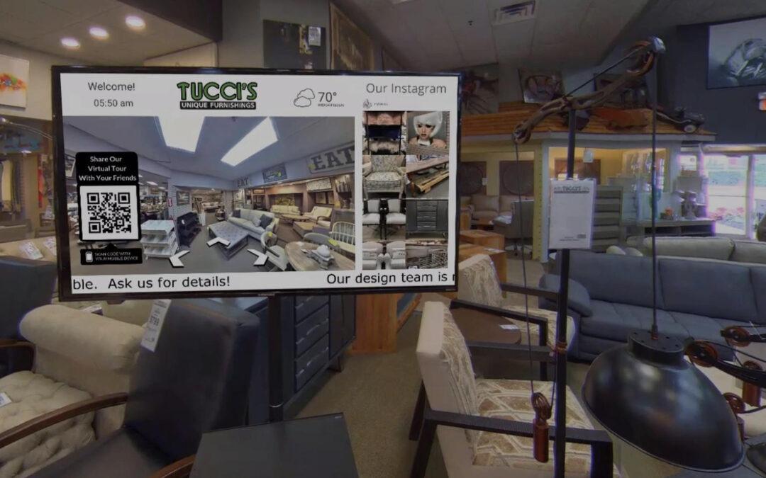 Digital Signage Project – Tucci's Unique Furnishings