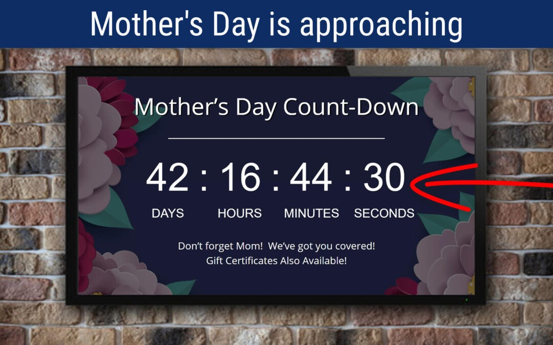 Mother's Day Count-Down Timer