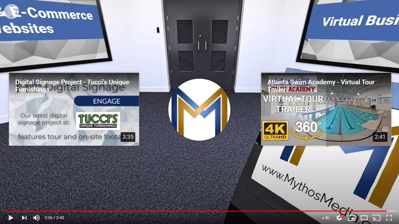 Mythos Media 360 Videos - YouTube End Cards