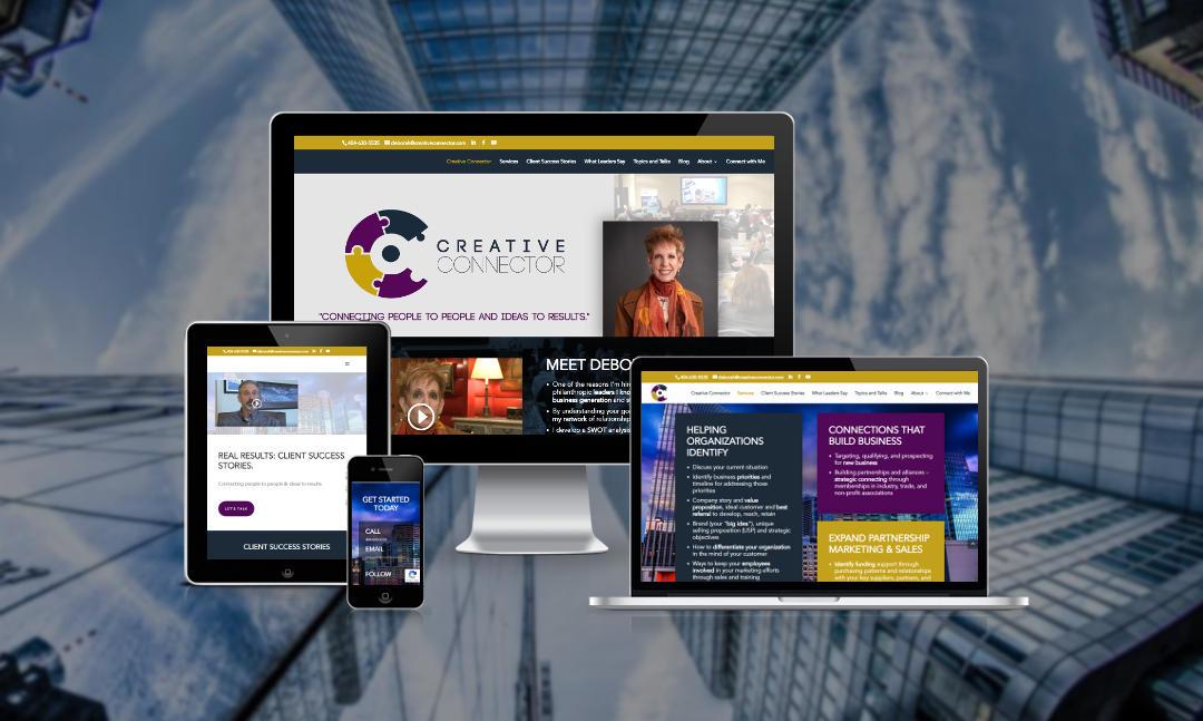 Mythos Media Website - Creative Connector, Atlanta Georgia