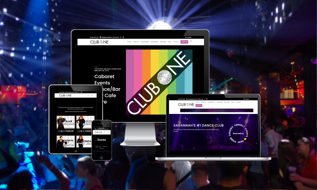 Club One New Website
